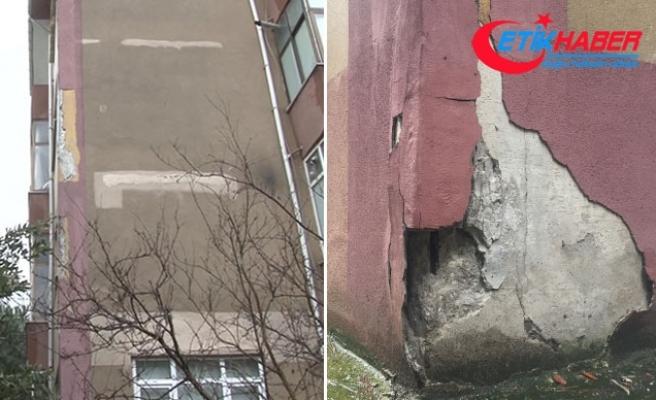 Maltepe'de 6 yıldır riskli binalarda tehlikeli yaşam