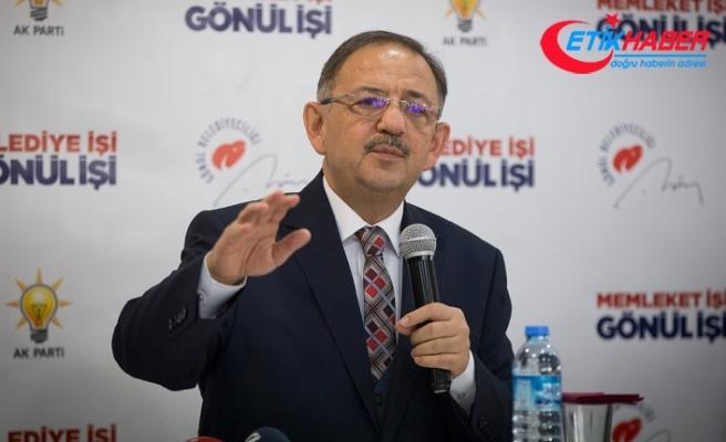 Mehmet Özhaseki: Onların oylarında evlatlarımızın kanı var