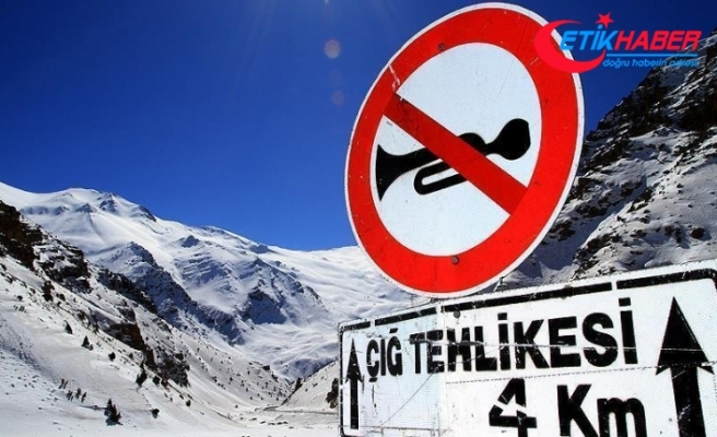 Meteorolojiden 4 il için buzlanma ve çığ uyarısı