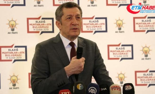 Milli Eğitim Bakanı Selçuk: Türkiye eğitimle ilgili çıta atlayacak