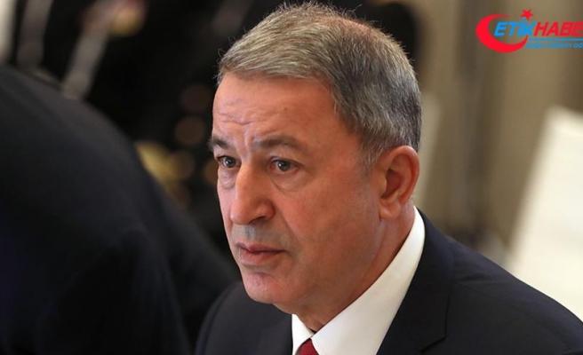 Milli Savunma Bakanı Akar: Suriye'de asıl mesele sınırımızın ve halkımızın güvenliğidir