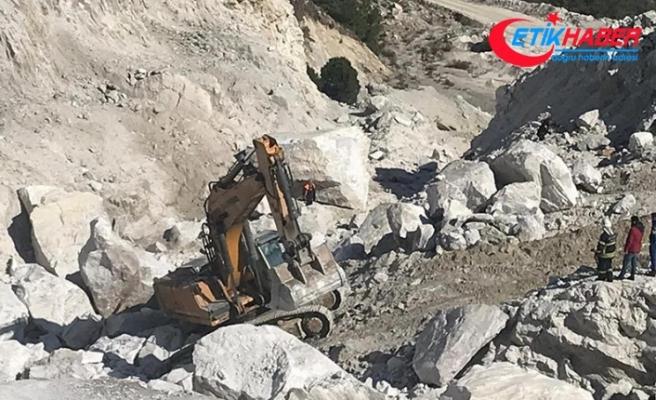 Muğla Milas'ta maden ocağındaki heyelanda 3 işçi hayatını kaybetti
