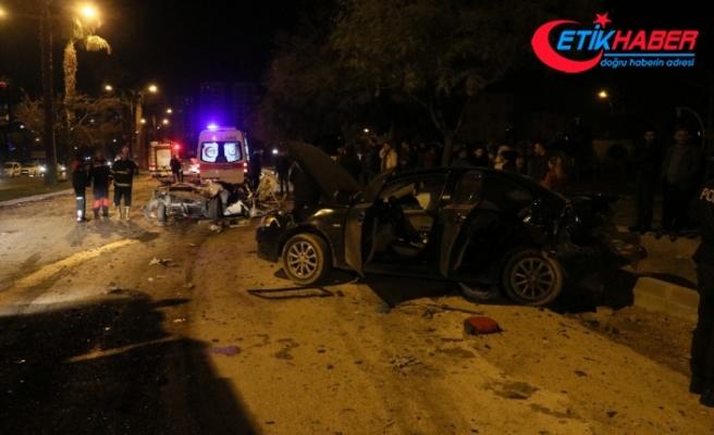 Önce yayaya ardından araçlara çarptı: 2 ölü, 3 yaralı