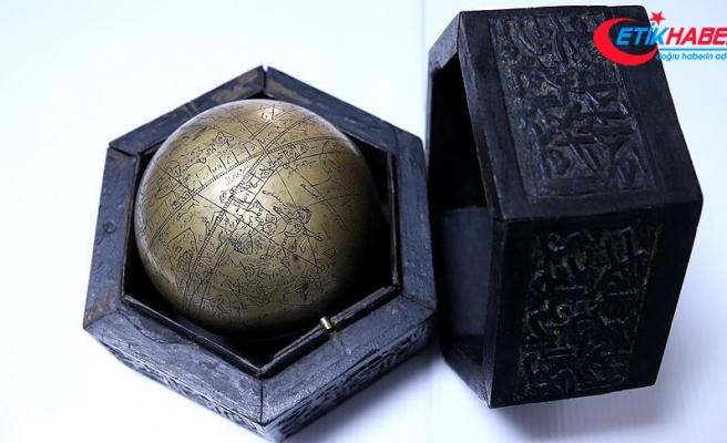 Osmanlı dönemine ait 'gökküre' ele geçirildi