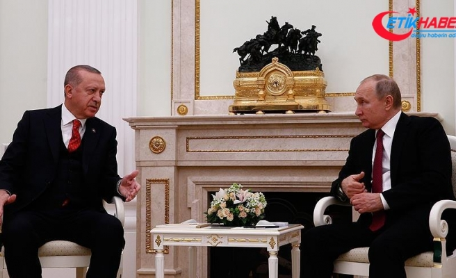 Putin'den Cumhurbaşkanı Erdoğan'a tebrik telefonu