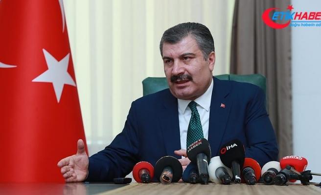 Sağlık Bakanı Koca: Kentlerde vakalara ulaşma hızımız 10 dakika