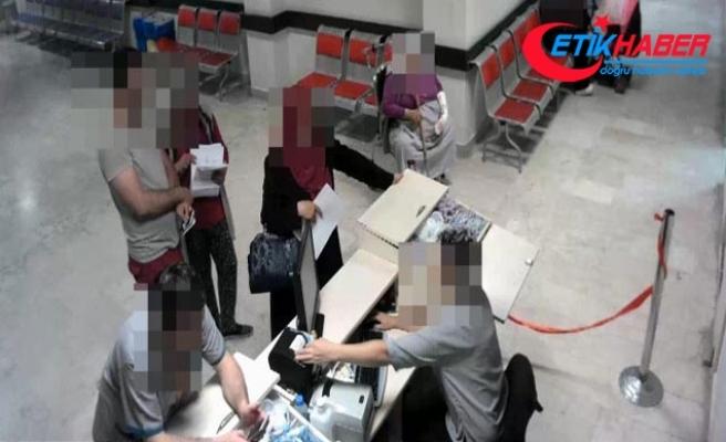 Sağlıklı kişilere engelli raporu alan çetenin yöntemi kamerada