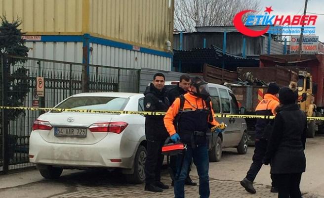Sakarya'da sanayi sitesinde gaz kaçağı; 3 kişi hastanelik oldu