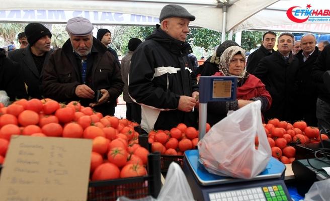 Samsun'da tanzim satış noktaları açıldı
