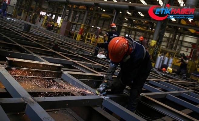 Sanayi üretimi 2018'de arttı