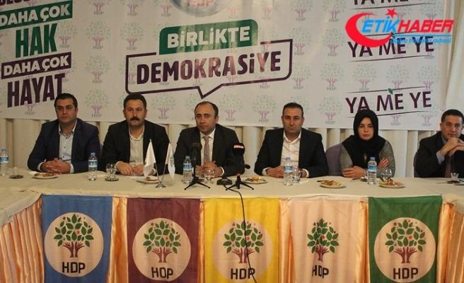 Şanlıurfa'da HDP'li adaylar, Saadet Partisi lehine çekildi