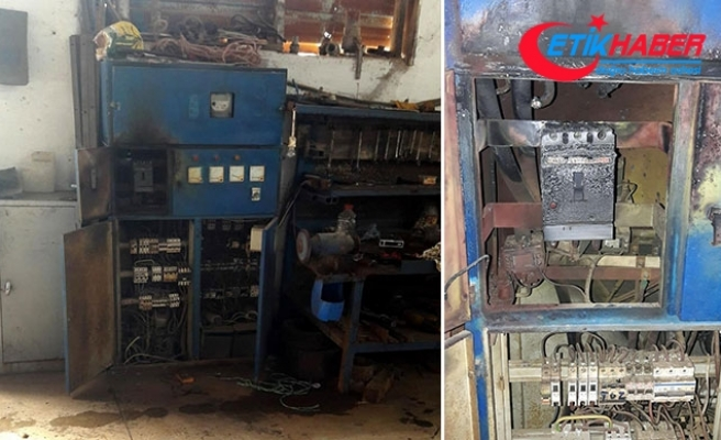 Simav'da yün fabrikasındaki trafo patladı: 2 yaralı