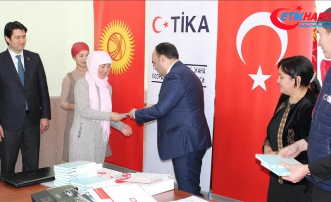 TİKA'dan Kırgızistan'da kadınların istihdamına destek