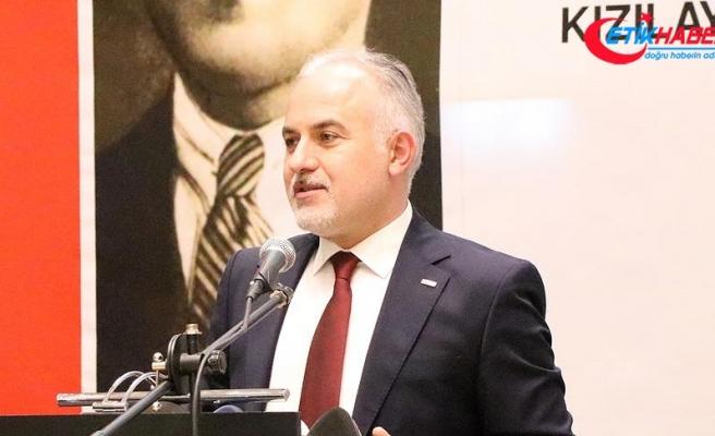 Türk Kızılay Genel Başkanı Kınık: Her gün 63 bin kişiye yardım ulaştırdık