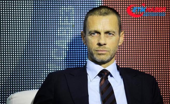 UEFA başkanlığına yeniden Ceferin seçildi