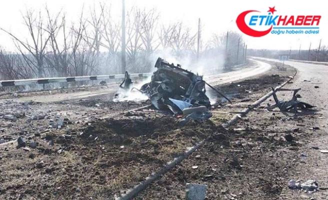 Ukrayna'da minibüs geçerken mayın patladı: 2 ölü, 3 yaralı
