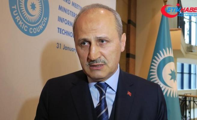 Ulaştırma ve Altyapı Bakanı Turhan: Bakü-Tiflis-Kars demir yolu hattı iş adamlarına avantaj sunuyor