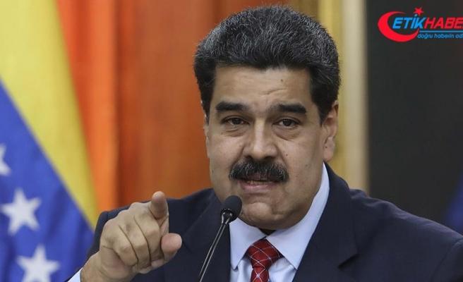 Venezuela Devlet Başkanı Maduro: Trump, elini kana bulayacak hatalar yapıyorsun