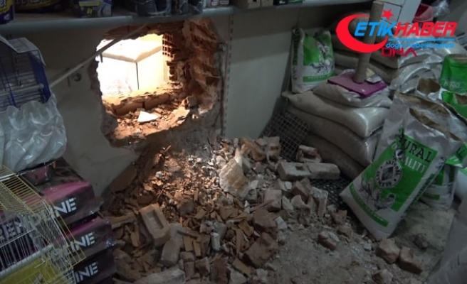 Yan dükkandan duvarı delip kuyumcuya giren hırsızlar, 10 kilo altın çaldı