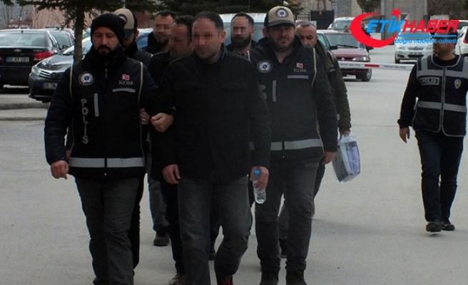 Yozgat'ta 9 eski komiser yardımcısı adliyeye sevk edildi