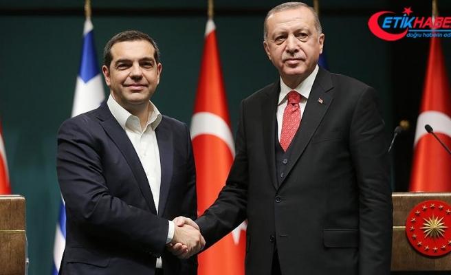 Yunan basını Erdoğan-Çipras görüşmesini manşete taşıdı
