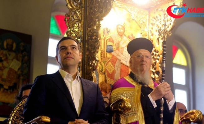 Yunanistan Başbakanı Aleksis Çipras, Ruhban Okulu'nda