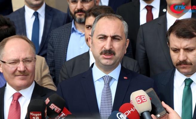 Adalet Bakanı Gül: Terörle mücadelemiz kararlı bir şekilde devam edecek