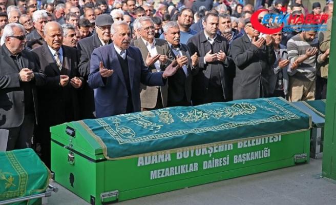 Adana'daki karbonmonoksit zehirlenmesi: 5 kişi toprağa verildi