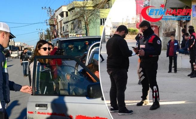 Adana'da 300 polisle operasyon; aranan 61 kişi yakalandı