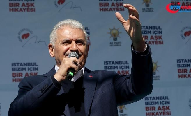 AK Parti İstanbul Büyükşehir Belediye Başkan Adayı Yıldırım: Tavşantepe'den Tuzla'ya metro gelecek
