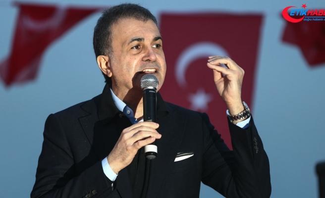 AK Parti Sözcüsü Çelik: Başkaları için korku olan seçim, bizim için müjdedir