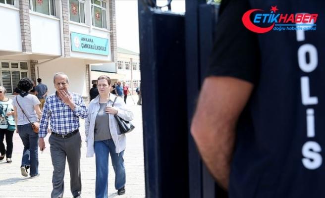 Ankara'da seçim güvenliği için 22 bin personel görev yapacak