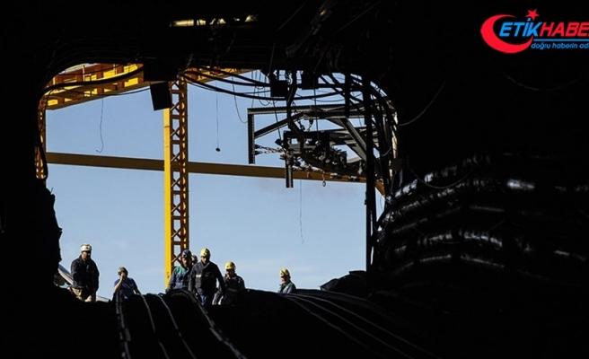 Ankara'da maden ocağında göçük