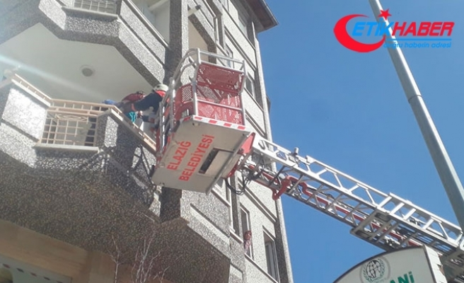 Apartmanın bodrum katında yangın; 2'si çocuk 5 kişi hastanelik oldu