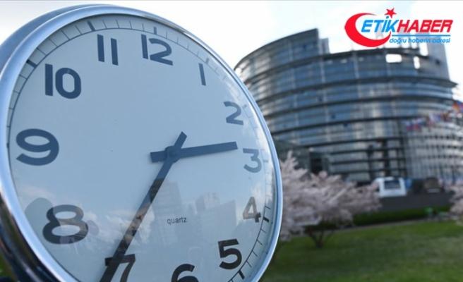Avrupa Parlamentosundan 'tek saate' onay