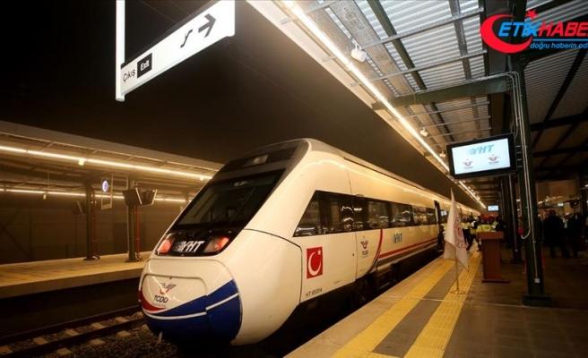 Bakan Cahit Turhan: Hızlı tren önümüzdeki hafta Halkalı'ya kadar hizmet verecek