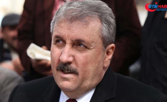 BBP Genel Başkanı Destici: S-400'lerin alınması konusu doğru bir politikadır