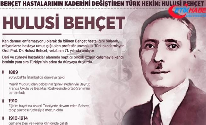 Behçet hastalarının kaderini değiştiren Türk hekim: Hulusi Behçet