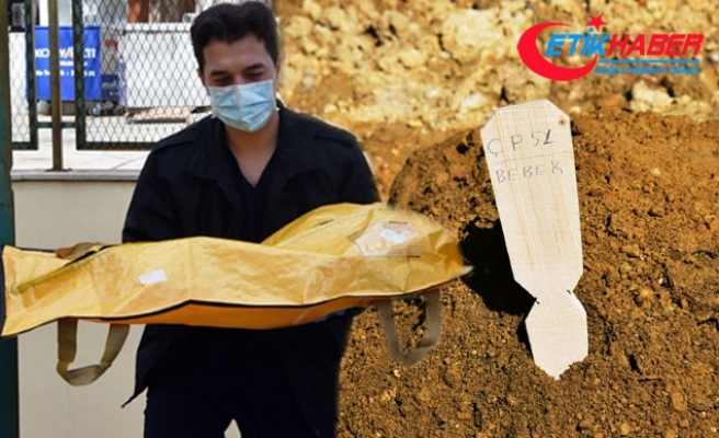 Bırakıldığı teneşirde ölen bebek, 'ÇP 51' koduyla toprağa verildi