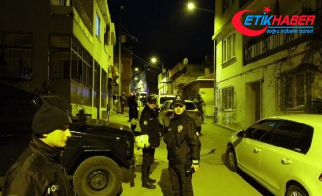 Bursa'da uyuşturucu satıcılarına şafak operasyonu: 4 tutuklama