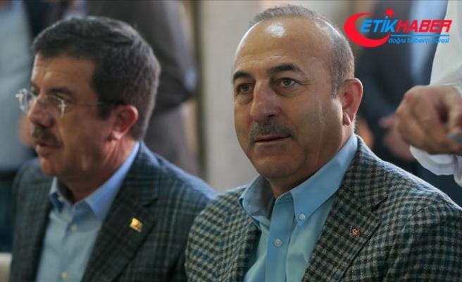 Çavuşoğlu: Cumhur İttifakı'nı Türkiye'yi kalkındırmak için kurduk