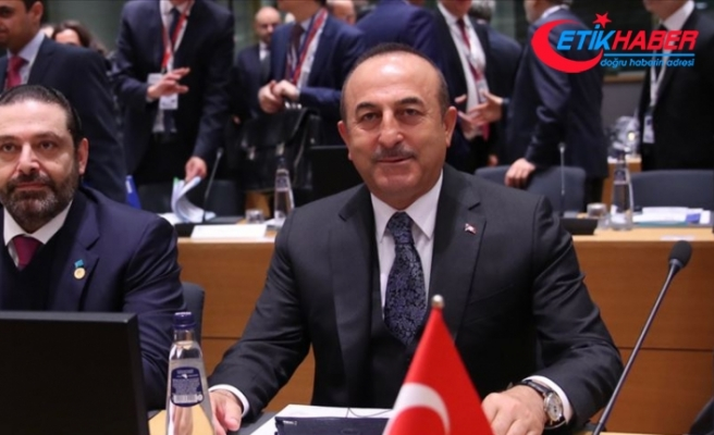 Çavuşoğlu: Suriye'de Anayasa Komitesi'nde son aşamaya gelindi