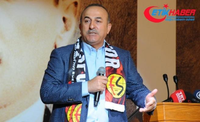 Çavuşoğlu: Kandil'deki teröristlerin ittifakın içerisinde olmasını hazmedemiyoruz