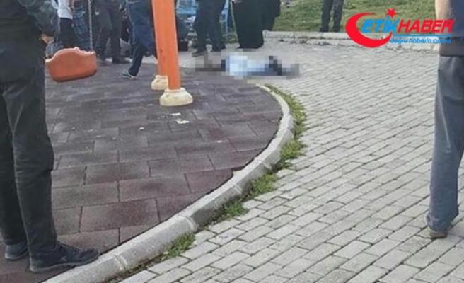 Çocuk parkında dehşet: Baldızını vurup intihar etti