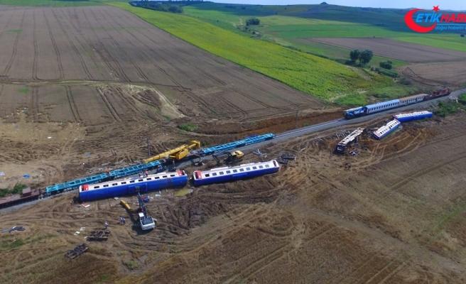 Çorlu'daki tren kazasıyla ilgili iddianame kabul edildi