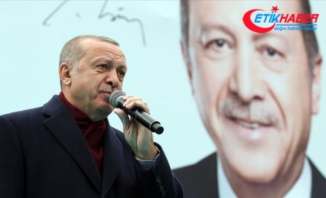 Cumhurbaşkanı Erdoğan: 82 milyonun Cumhurbaşkanıyız
