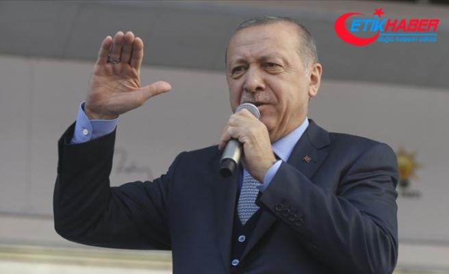 Cumhurbaşkanı Erdoğan: Bukalemun ittifakı oluşturdular