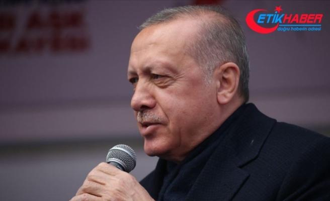 Cumhurbaşkanı Erdoğan: Bunların amacının belediyeleri yönetmek olmadığı gayet açık
