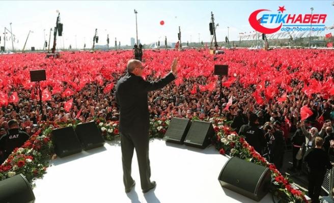 Cumhurbaşkanı Erdoğan'dan İstanbullulara müjdeler