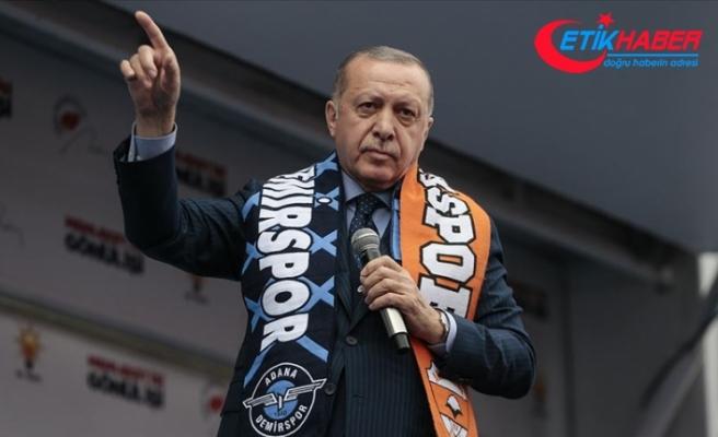 Cumhurbaşkanı Erdoğan: Ezan ve bayrak düşmanları ile sonuna kadar mücadele edeceğiz